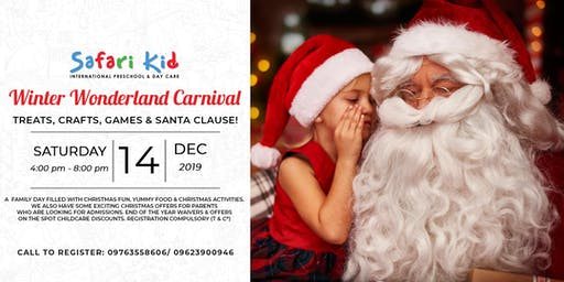 Winter Wonderland- Safari Kid Kharadi