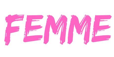 FEMME @ Camelot tickets