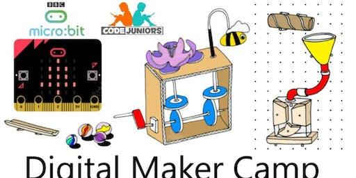 Micro:bit Digital Maker Camp (Age 8-12)