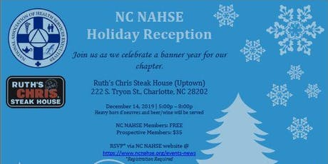 NC NAHSE Holiday Reception tickets