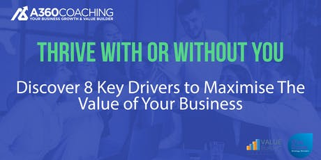 Will 2020 be the year you seriously drive up the value of your company? tickets