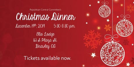 Imperial County Republican Party Christmas Dinner entradas