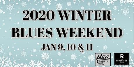 Winter Blues Weekend: Zack Quintana, Blind Harpdog's Band, Sawtooth Blues tickets