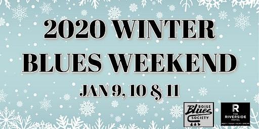Winter Blues Weekend: Zack Quintana, Blind Harpdog's Band, Sawtooth Blues