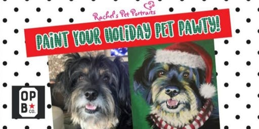 Paint Your Holiday Pet Pawty!!