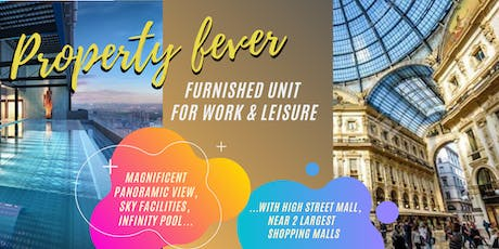 PJ New Launch - Work and Leisure Furnished Studio unit  tickets