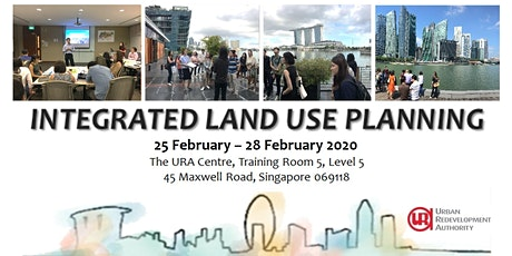Integrated Land Use Planning (25 to 28 February 2020) tickets
