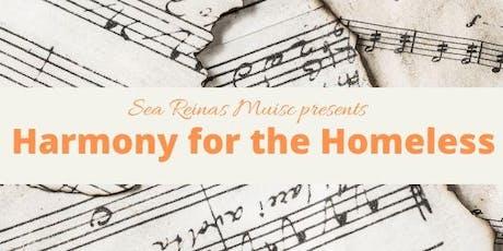 Harmony for the Homeless tickets