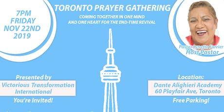 Toronto Prayer Gathering tickets