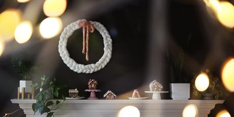 MADE SOCIAL. Workshop - Holiday Chunky Knit Wreath tickets