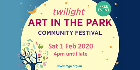 2020 Twilight Art in the Park Community Festival tickets