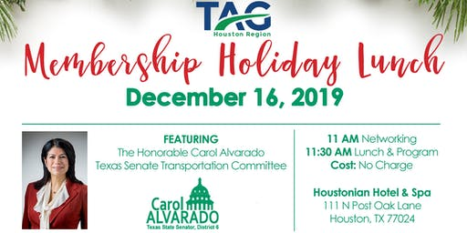 TAG 2019 Holiday Membership Luncheon