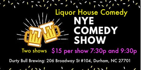 Liquor House Comedy NYE comedy show tickets