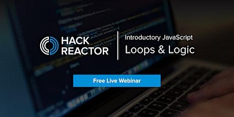 [WEBINAR] Learn JavaScript: Loops & Logic ingressos