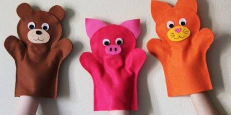 January Holiday Program: Felt Hand Puppets - Tea Gardens tickets