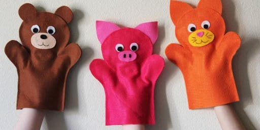 January Holiday Program: Felt Hand Puppets - Tea Gardens