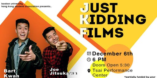 Just Kidding Films x HKSA Fall 2019