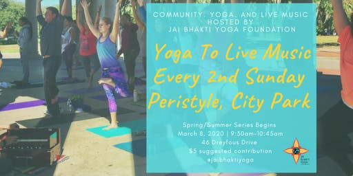 Yoga to Live Music Series Every 2nd Sunday