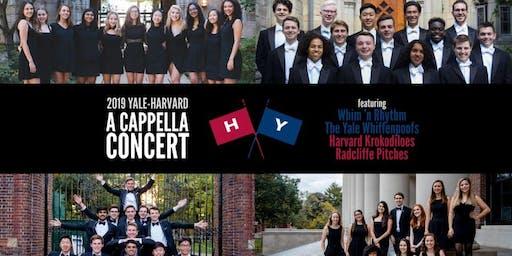 Yale-Harvard A Cappella Concert 2019