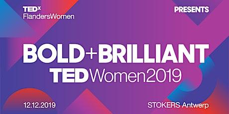 TEDxFlandersWomen2019 // cinema/NO FOOD/drinks/workshop/music/art/networking tickets