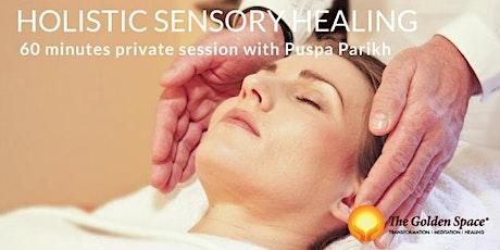 Holistic Sensory Healing 60 min private session with Puspa Parikh tickets