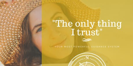 """The only thing I trust""   Empowerment found in heart felt decision making. tickets"