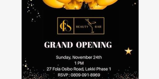Tiwa Savage's Hair Stylist's Beauty Bar Launch