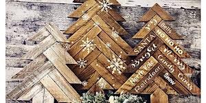 Sip n' Design Studios -  Herringbone Christmas Tree...