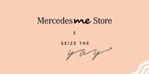 Sarah Holloway 'Seize the Yay' Live at Mercedes me Store