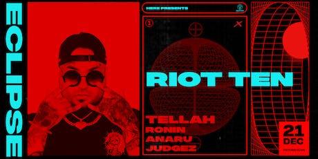 ECLIPSE feat. Riot Ten tickets