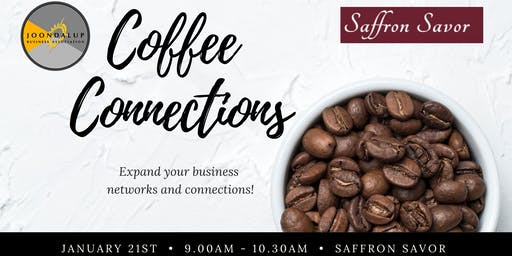 Coffee Connections Business Networking - Saffron Savour