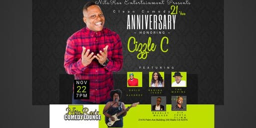 Cizzle C Comedy Anniversary 21 Years Clean Comedy  Show