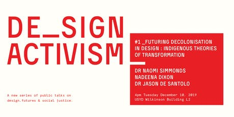 Design Activism #1 tickets
