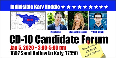 CD-10 Candidate Forum tickets