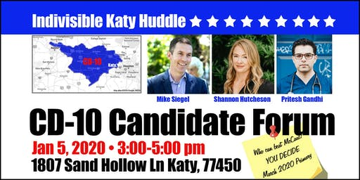 CD-10 Candidate Forum