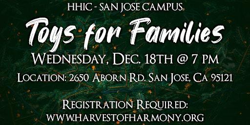 Free Toys For Families San Jose 2019