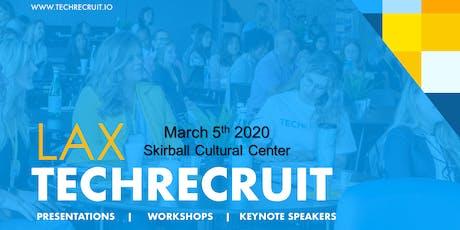 LAX TechRecruit 2020 tickets