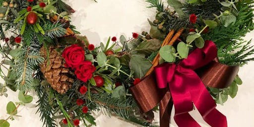 Christmas Wreath Workshop - QT Perth