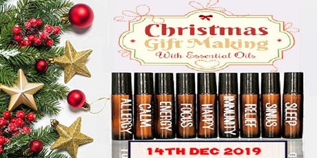 Christmas Gift Making with Essential Oils tickets