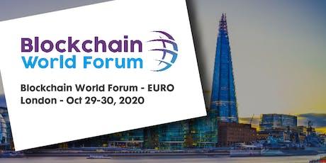 Blockchain World Forum 2020 - EURO tickets