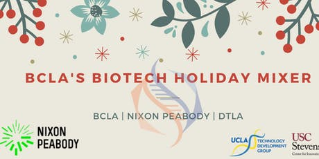 Holiday Biotech Networking Mixer tickets