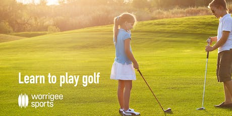 Learn to play golf  8-12 years tickets