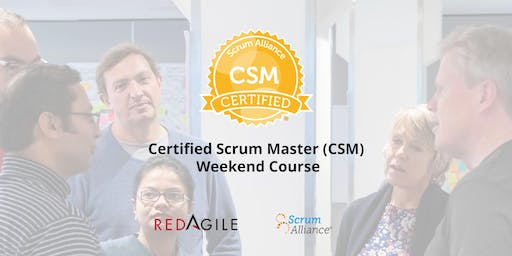 PERTH | AGILE Certified Scrum Master Course (CSM), WEEKEND 30th Nov-1st Dec
