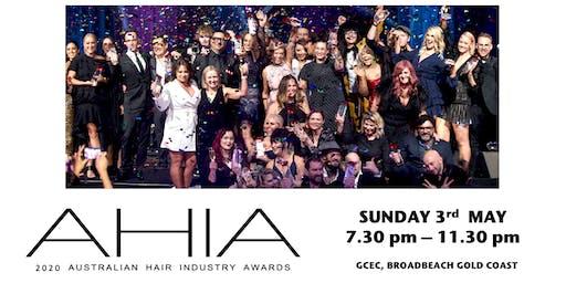 AUSTRALIAN HAIR INDUSTRY AWARDS 2020