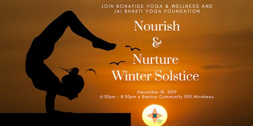Nurture and Nourish-Winter Solstice