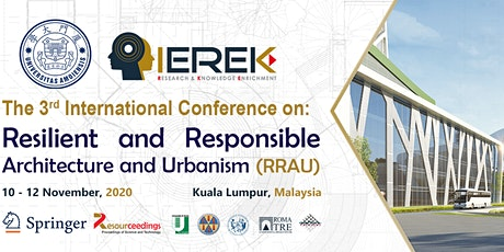 Resilient and Responsible Architecture and Urbanism (RRAU) - 3rd Edition tickets