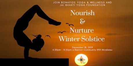 Nurture and Nourish-Winter Solstice tickets