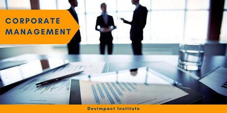Training on Corporate Management tickets