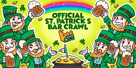Official St. Patrick's Bar Crawl | Raleigh, NC - Bar Crawl Live tickets