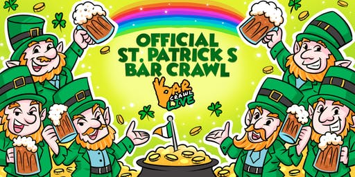Official St. Patrick's Bar Crawl | Raleigh, NC